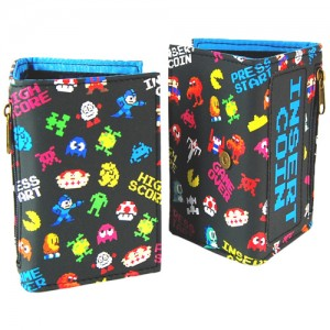 Retro characters wallet