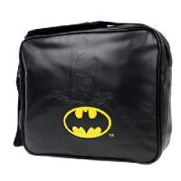 Embossed Batman Messenger bag