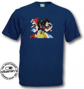 Battle of the planets Tee