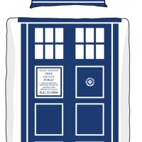 Doctor Who single duvet set