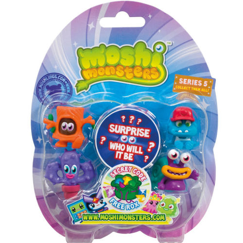 Moshi Monsters Series 5 blister pack