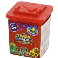 The Trash Pack series 4 Red trash cans