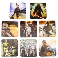 3D Coaster set Star Wars